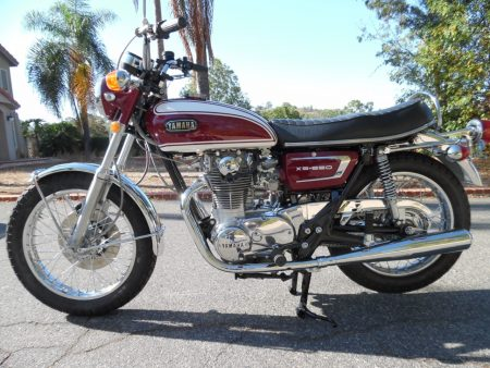 1972 Yamaha XS650 XS2 Mikes XS Customer Build