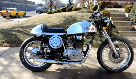 1972 Yamaha XS650 Cafe Racer