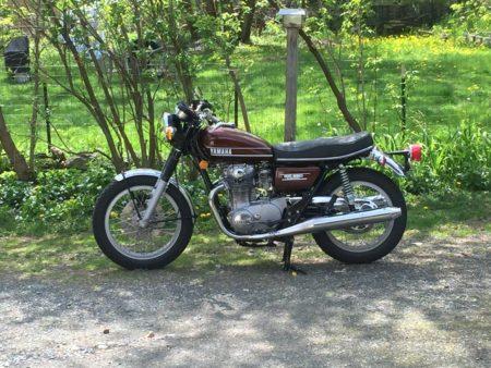 1974 Yamaha TX650a