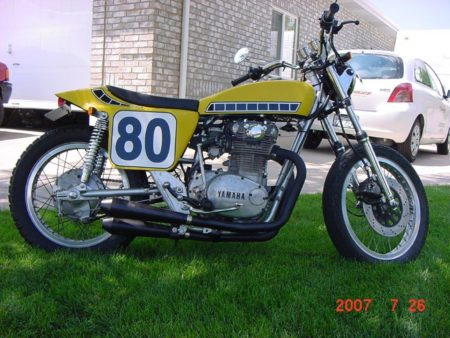 1977 Yamaha XS650 Kenny Roberts Tribute Bike
