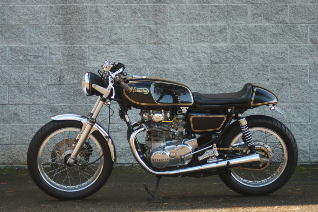Ticos Transformed Cafe Racer 1979 Yamaha XS650 Special II