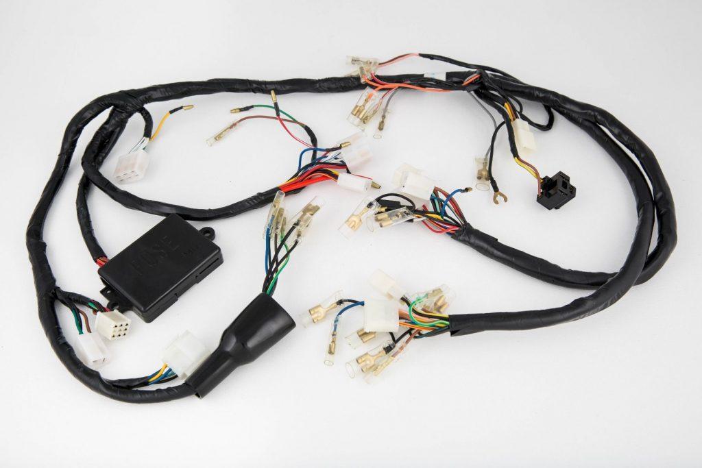 Yamaha MikesXS main wiring harness 1978 xs650e