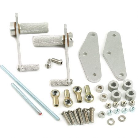 Loaded Gun XS650 rearsets mikes xs
