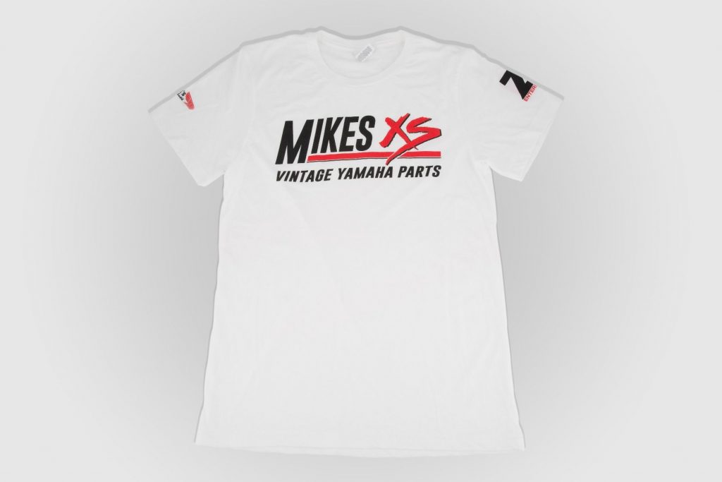 Mikes XS White T-shirt