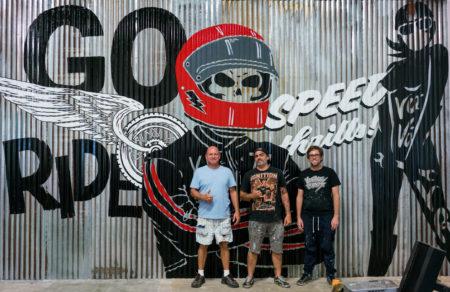 Vitale Bros MikesXS Mural