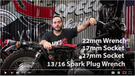 Yamaha XS650 Cam Chain Adjustment Video