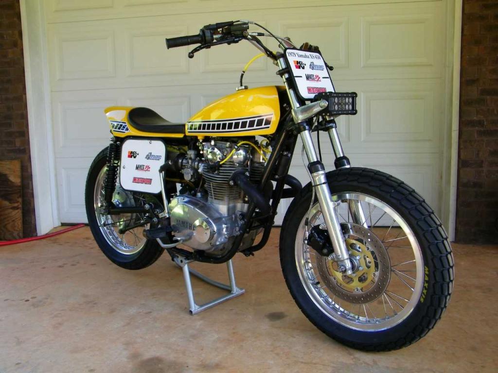 Yamaha XS650SF Special 1979 Yellow Racing John J MikesXS