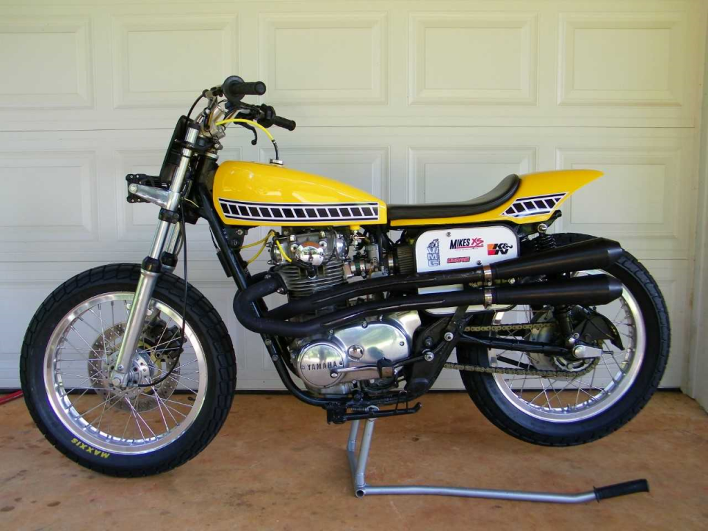 Yamaha XS650SF Special 1979 Yellow Racing MikesXS John J