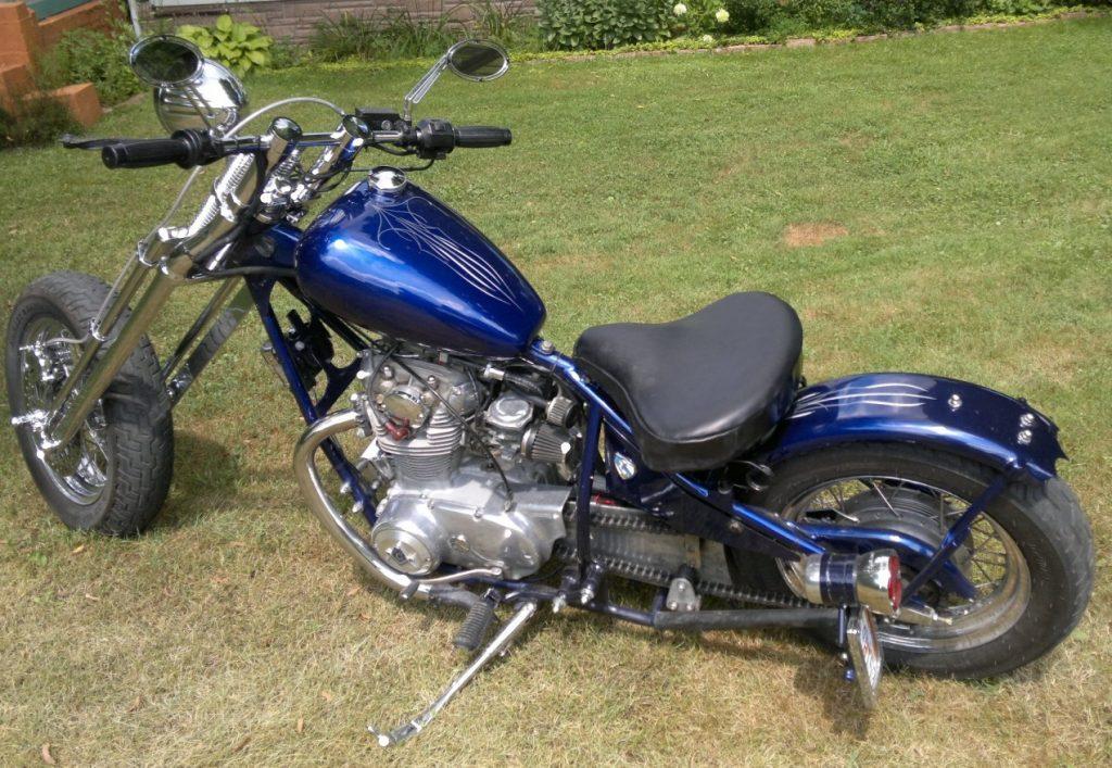 Yamaha XS650 Eugene B.