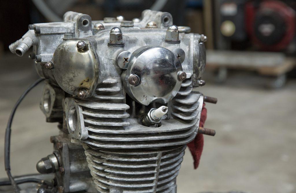 xs650 motor top end rebuild gasket kit