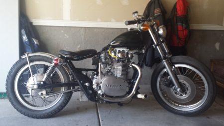Yamaha XS650 Black