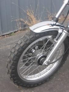 Yamaha XS650 Scrambler Wheel