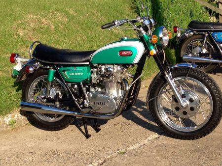 Yamaha XS650 Green