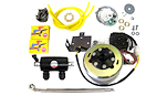 Charging System: 1980-84 650 Rotors, Stators, Regulators and Brushes