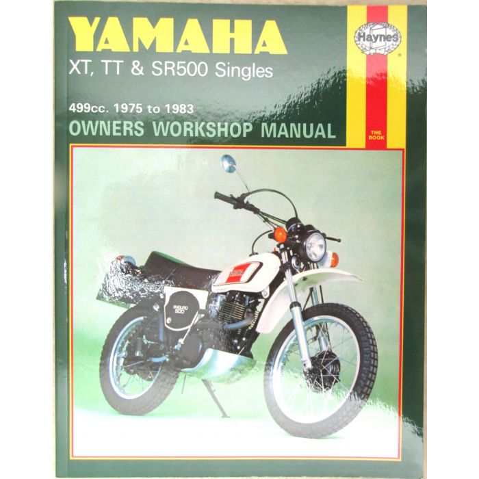 Manual Sr500 Xt500 Tt500 Haynes Yamaha Motorcycle Parts Mikes Xs