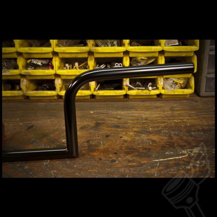 Frisco Non-Dimpled-Black-7//8 Handlebars Biltwell HB-FRN-78-BK