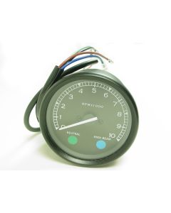 Tachometer - Smith's Style - 80mm Diameter - XS1 - XS2