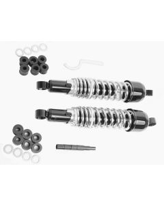 Monza Shocks blk body Ch spr 13 3/16'