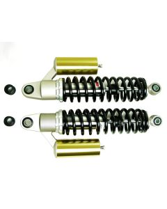 "Gas Shock Absorber Set 12.6"" (320mm) Black springs"