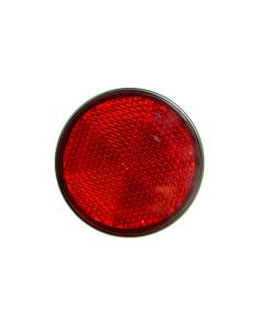Reflector - Red - 60mm Diameter