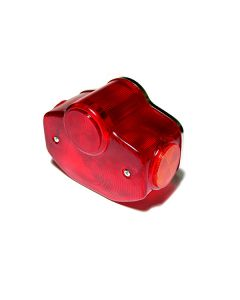 Lens - Tail Light - Chrome Steel Backing Plate Assembly - XS650 Euro - XS1