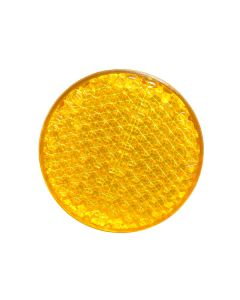 Reflector - Amber - 60mm Diameter
