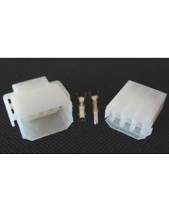 Wire Connector Set w/Terminals - 6 Space