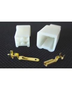 Wire Connector Set w/Terminals - 4 Space