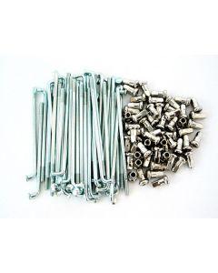 Spoke Set - 16 inch Rims - Rear - Stainless Steel - 48 Spoke - XS650 Special II