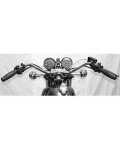 Handlebar - XS1 XS2 Replica - Chrome 7/8""