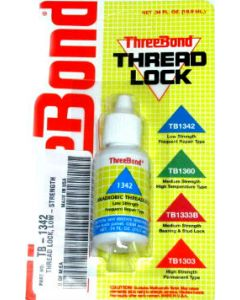 Threadlock - ThreeBond - Blue - 1342 - Low Strength