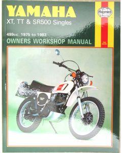 Manual - SR500 - XT500 - TT500 - Haynes
