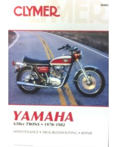 Yamaha Clymer Manual - XS650 Twins