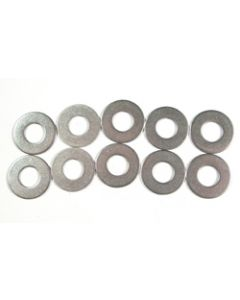 Stainless Steel Flat Washers - 10mm - Pkg 10
