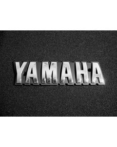 Fuel Tank Badge - Yamaha Chrome Letters