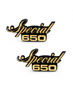 Sidecover Emblem - Special 650 Gold
