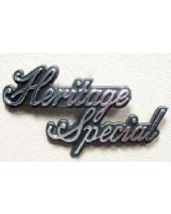 Sidecover Emblem - Heritage Special