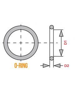 O-Ring - 81.5mm x 1.9mm - XS650 FJ1200 Cylinder Sleeve