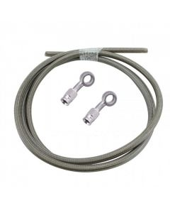 Brake Line Kit - Braided Stainless Steel - 60 inch - TC Bros
