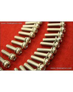 Machine Screw Phillips Pan-Head 4x12 - 25-pack