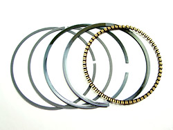 Piston Ring Set - 1st. Oversize - Yamaha XS650 - 447 and 533 engines ( 0.25mm) Photo
