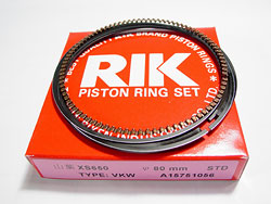 80 mm. Piston Ring Set for 750 Big Bore Photo