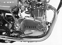 Chrome plated Replica Headpipe Set for Yamaha XS1 XS1B XS2 TX650 Photo