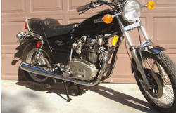 "Exhaust System for 1978-84 XS650 ""Specials"" - XS1 type replica Photo"