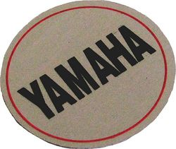Yamaha disc brake Logo Photo