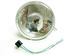 "7"" European Halogen Head Lamp Kit Yamaha XS650 Photo"