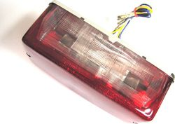 Tail light assembly - long rectangular type Photo