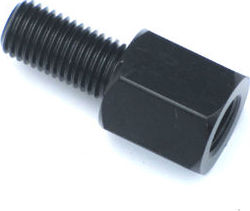Mirror Adapter 10mm to 10mm RH/RH black Photo