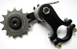 Clamp on 530 Spring Loaded chain Tensioner Photo