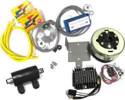 Basic High Output Electronic Ignition Kit + E-Advancer/XSCharge PMA Package Photo